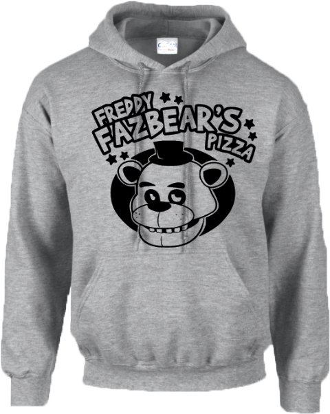 FREDDY FAZBEARS PIZZA HOODIE - INSPIRED BY FIVE NIGHTS AT FREDDYS